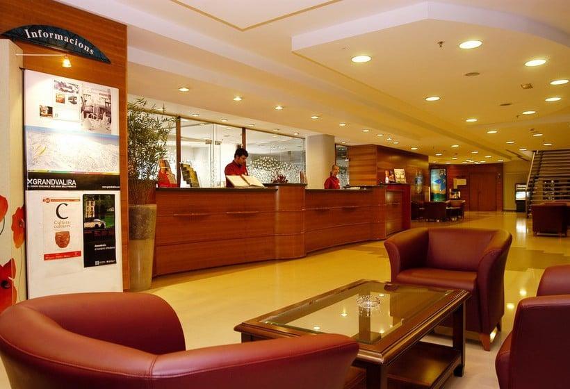 RecepÇão Hotel Tropical Les Escalades-Engordany