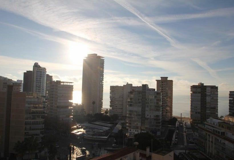 Aussenbereich Apartamentos San Jaime Benidorm