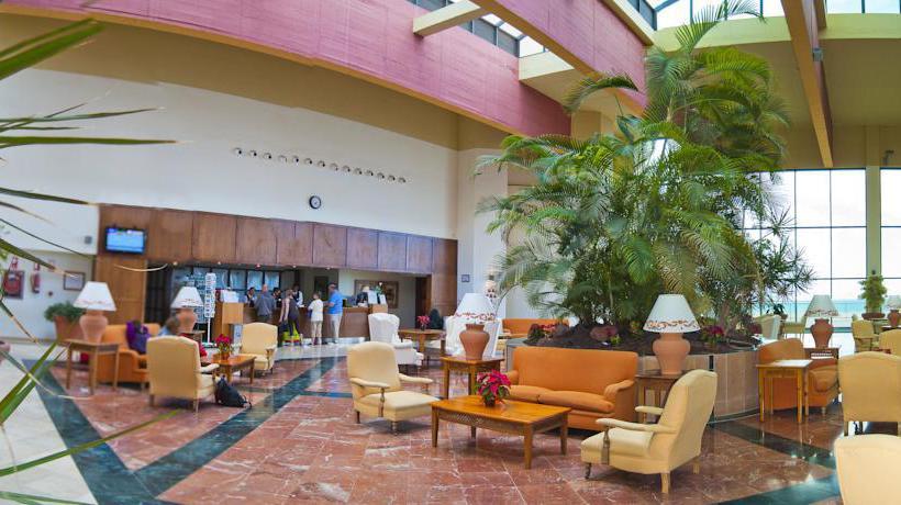 Front desk Hotel SBH Club Paraíso Playa Playa de Esquinzo