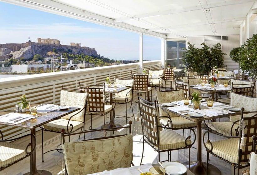 Terrasse Hôtel King George Palace Athènes