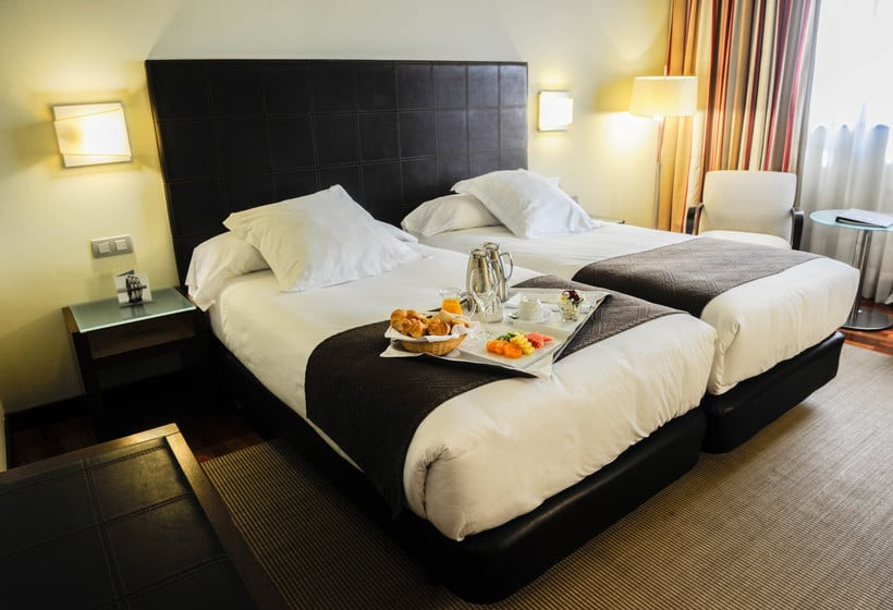 방 호텔 Attica21 Coruña 라코루냐