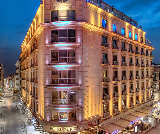 Aussenbereich Hotel Zurich Istanbul