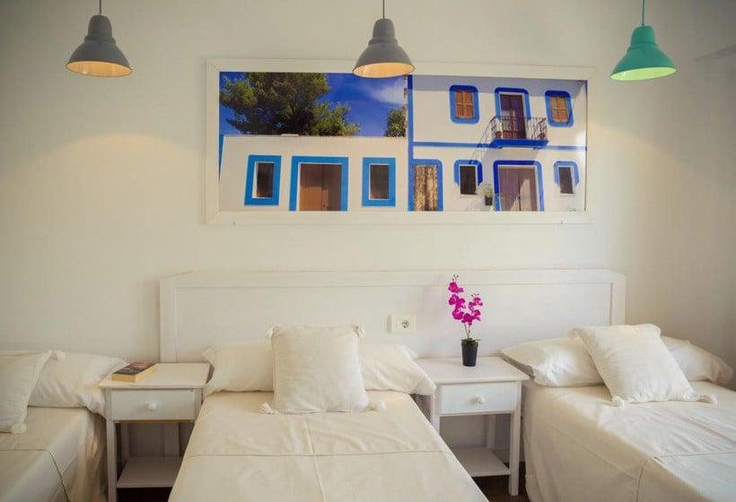 غرفة NWT Hostal Sunset Ibiza سان أنطونى دى بورتمانى