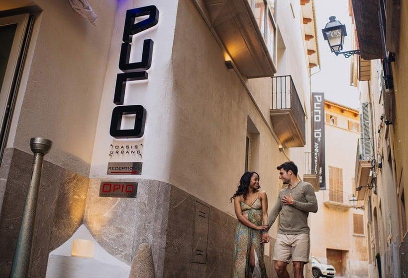 Outside Puro Hotel Palma Palma de Maiorca