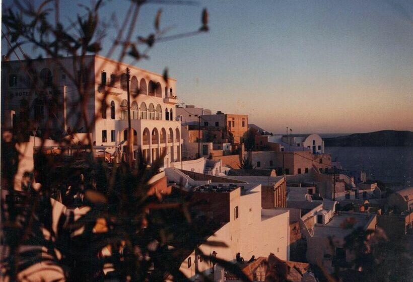 ホテル Atlantis サントリーニ
