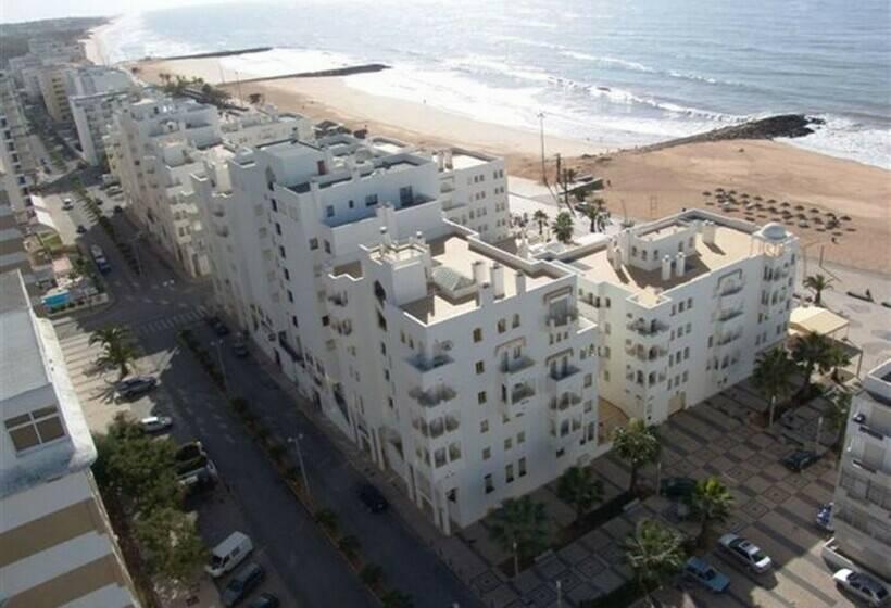 Aussenbereich Apartamentos Garvetur Atlantida Quarteira