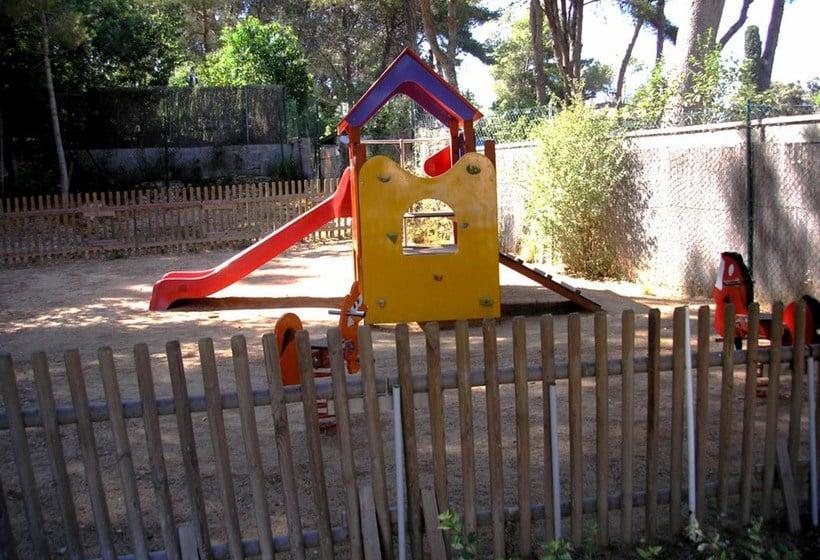 Aires de jeux pour enfants Apartamentos Ibersol Siesta Dorada Salou