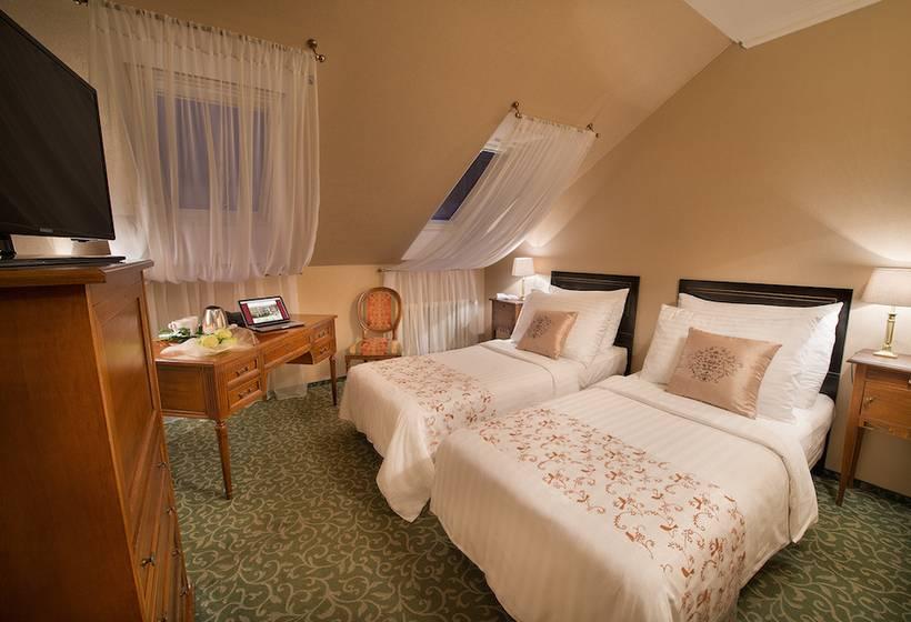Habitación Hotel Angelis Praga