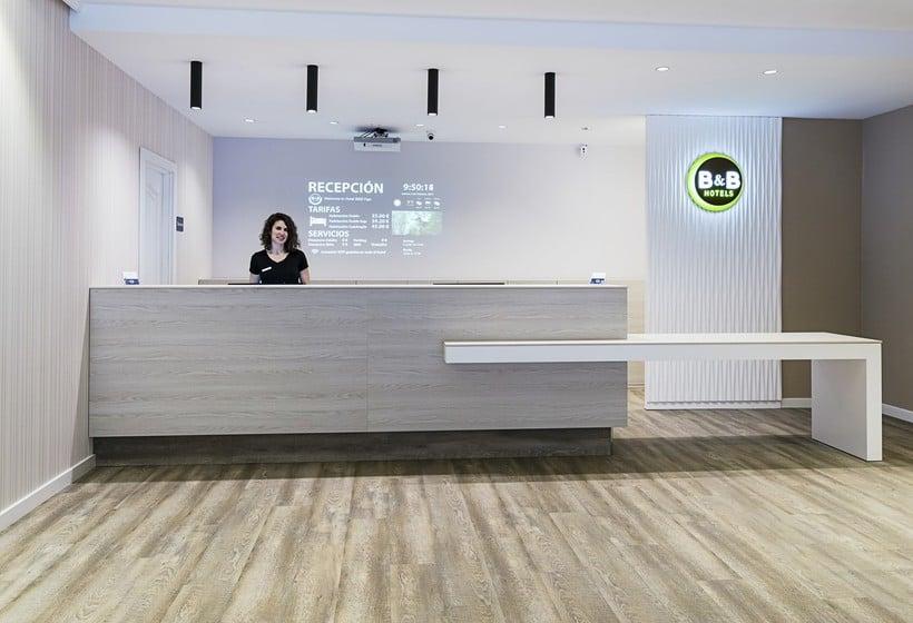 Front desk B&B Hotel Madrid Airport T1 T2 T3