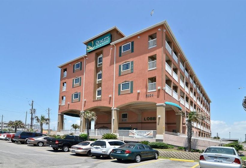 Hotel Quality Inn Suites Beachfront Galveston