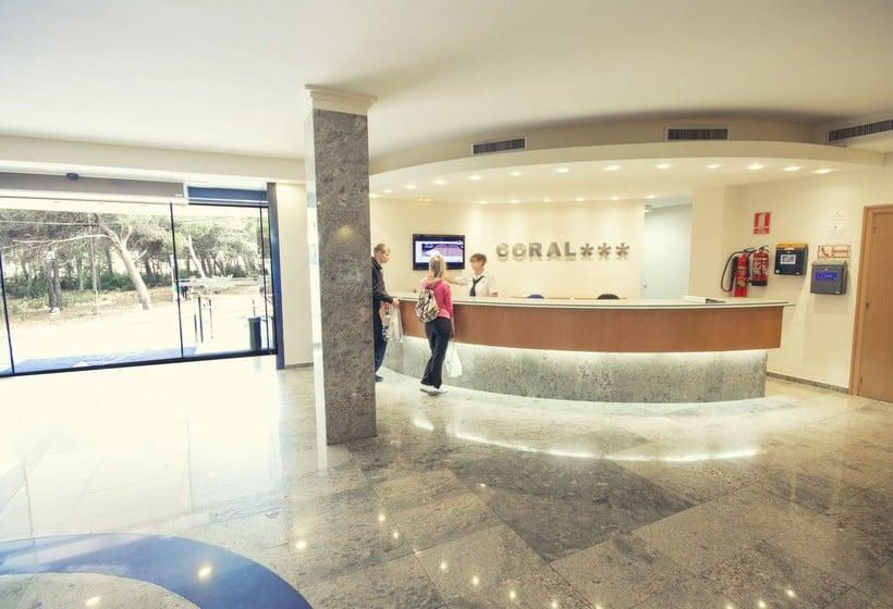 Receptie AzuLine Hotel Coral Beach Es Canar