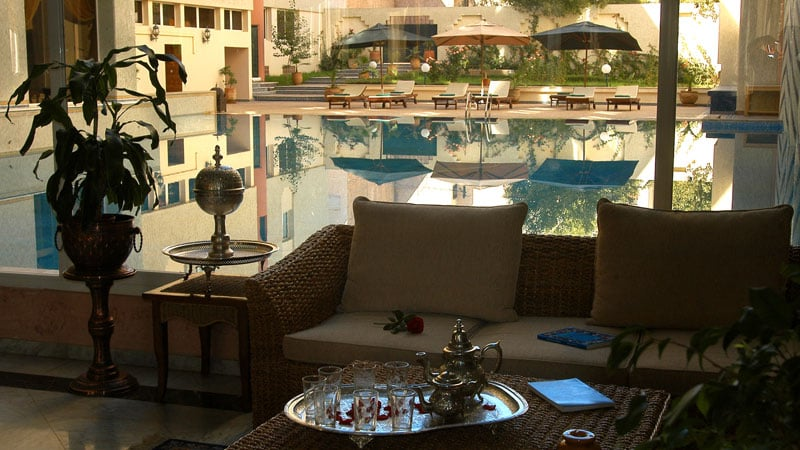 Swimming pool Hotel Menzeh Fez