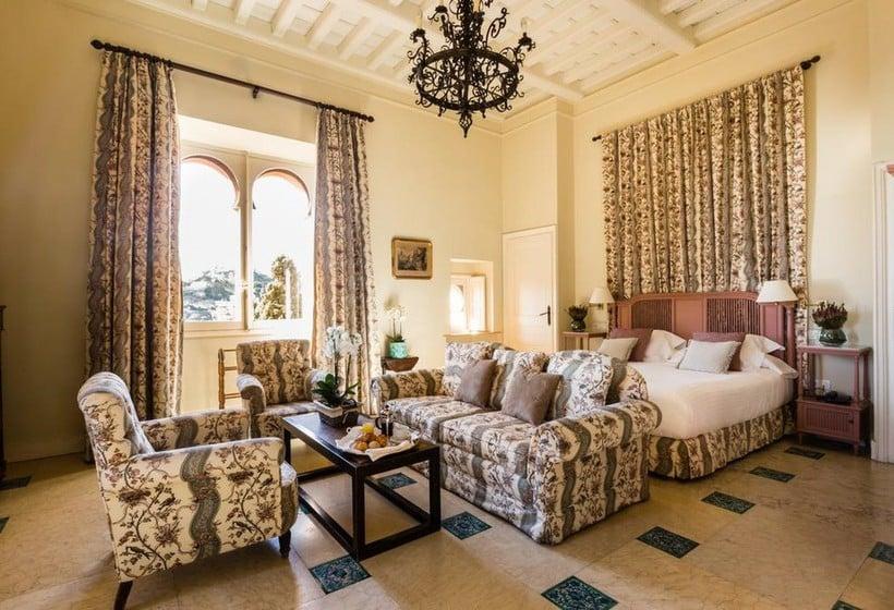 Chambre Hôtel Castillo de Santa Catalina Malaga