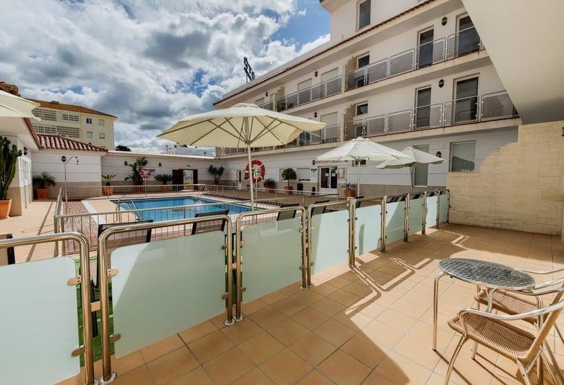 Terrace Loto Conil Hotel Apartamentos Conil de la Frontera