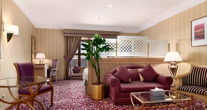 اتاق هتل Makkah Hilton مکه
