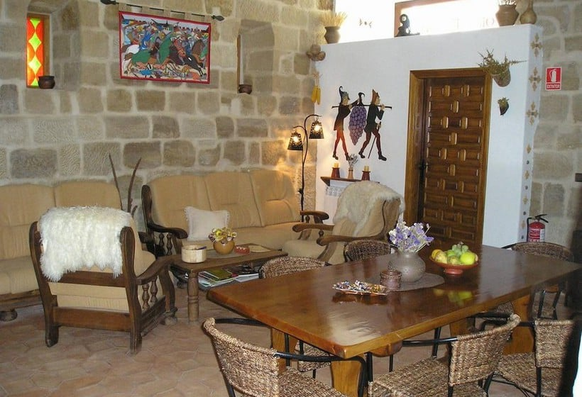 Gemeinschaftsbereiche Casa Rural Torre Fuerte Baños de Rioja