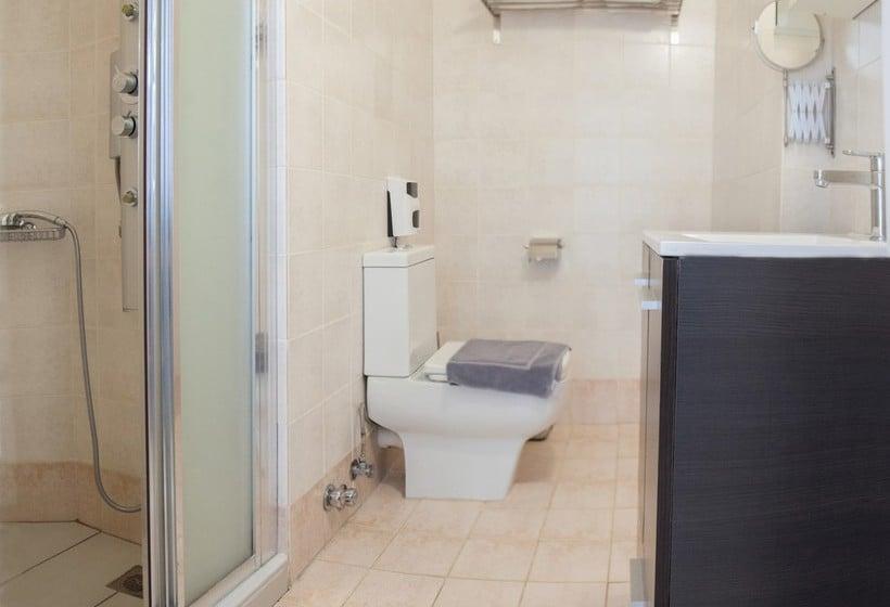 Badezimmer Hotel Kimon  Athen