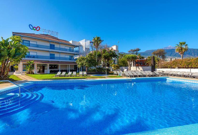 Hotel weare la paz en puerto de la cruz destinia - Vuelo mas hotel puerto de la cruz ...