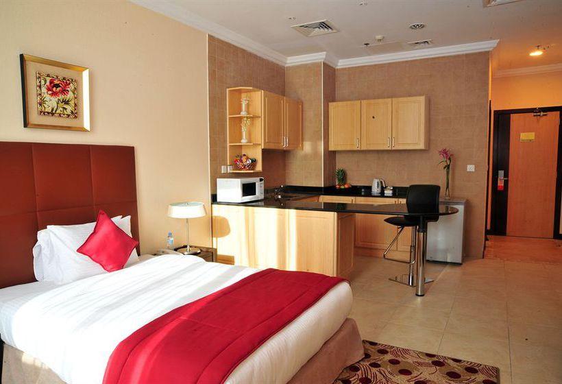 Quarto Hotel Kingsgate Doha