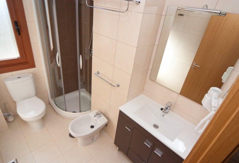 Casa de banho Aparthotel Jacetania Spa Jaca