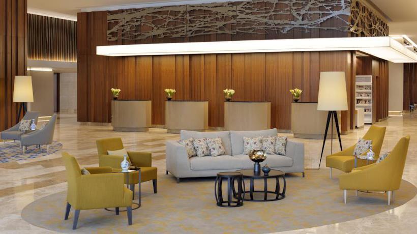Zonas comunes Istanbul Marriott Hotel Sisli  Estambul