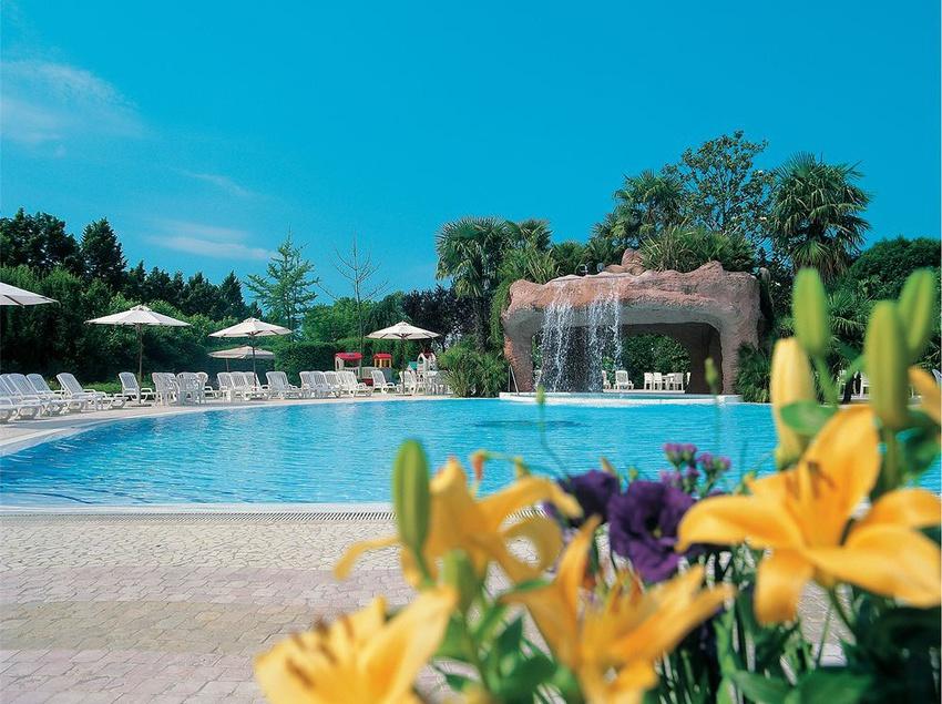 Schwimmbad Park Hotel Villa Fiorita Monastier di Treviso